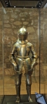 Child's Armor--- Cinco Loved Looking at it!