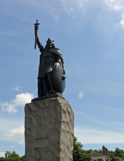 The King Alfred Statue